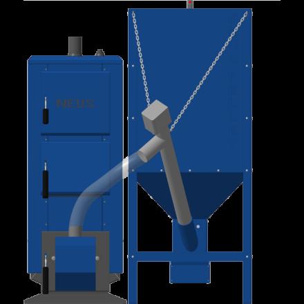 Пеллетные котлы с автоматической подачей топлива Neus